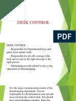 Rdm Desk Control