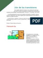 Polarización de Los Transistores
