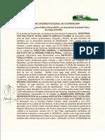 Convenio IDPP