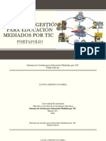 Sistemas de Gestion Para Educacion Mediados Por Tic