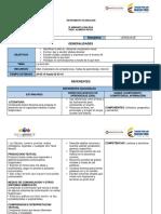 Planeación Letra m 1B