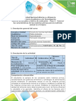 Guía de actividades y rubrica de evaluación - Paso 3 - Conocer las características de las materias primas para la nutrición animal en el trópico