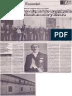 Homenajearon al patricio arequipeño José Luis Bustamante y Rivero