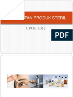 Ppt Pembuatan Produk Steril