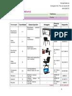 Ejemplo de cotización para sala de computo