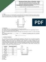 Prática 7 - Mecânica Dos Fluidos - Densidade Desconhecida