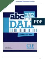 Droit Livre Audio ABC Dalf c1 c2 de Isabelle Barrire Tlcharger en Ligne 28275061 180216123551