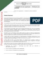 NBR ISO 9004 2019 GQ QO Sucesso Sustentado Draft