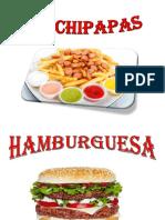 anuncios comida rapida