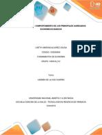 Unidad #2 Tarea 3- Explicar El Comportamiento de Los Principales Agregados Económi
