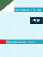 3.6.2 Caracteristicas de Los Servicios
