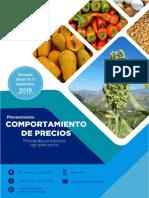 Guatemala Informe Semanal de Precios, Del 05 Al 11 de Septiembre 2019