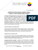 Comisión Católica No-Romana - Investigación caso Hermana Adriana Torres