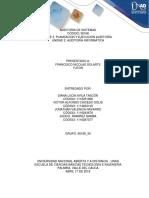 Trabajo Colaborativo - Planeación y Ejecución