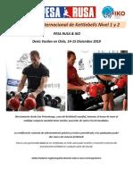 Certificación Internacional de Kettlebells Nivel 1 y 2