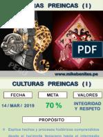 5°- CULTURAS PREINCAS I- 5TO AÑO_
