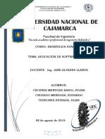 Informe Ariete Programa