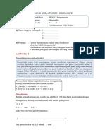 LKPD - Persamaan Nilai Mutlak (Kelas X)