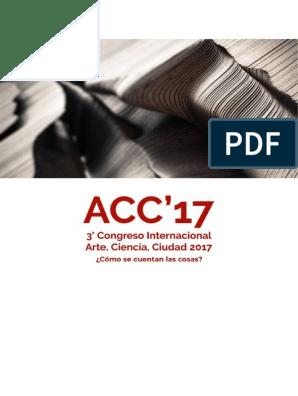 Congreso ACS   Conocimiento   Artes (General)