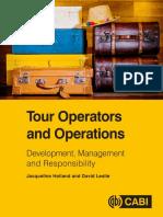 Jacqueline Holland, David Leslie - Tour Operators and Operations_ Development, Management & Responsibility-CABI (2017).pdf