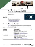 Cts Webex Checklist