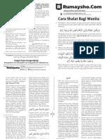 Buletin Muslimah - Cara Shalat Wanita #01.pdf
