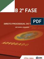 Aula 10 - Resolução Do Segundo Exercício de Recurso Ordinário - Aryanna Linhares