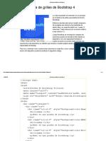 Sistema de Grillas de Bootstrap 4