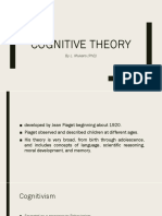 Lecture Notes - Cognitive Theory