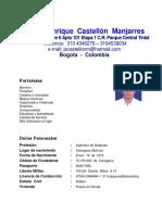 Hoja de Vida Javier Castellon