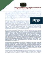 Candomblé Jeje-Nagô Na República Velha - Resistência e Contribuição Cultural