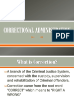 Correctional Administration2019