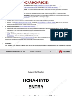 HCIA-HNTD Entry Training Materials V2.2