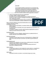 Salud Organizacional y Desarrollo