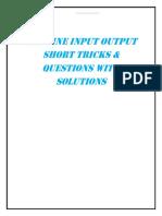Machine Input Output PDF by Governmentadda