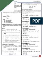 Formulario - Criterios de Divisibilidad