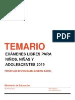 temario 3 basico