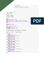 Kelompok 1 Komputasi Numerik Terapan