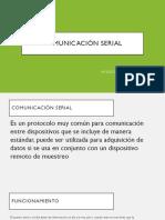 Comunicación Serial Micro