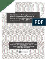 SORIA - La experiencia de la regresión de la escucha planteada por Theodor W. Adorno en la produc....pdf