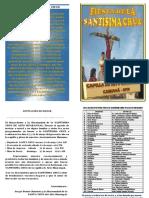 Tarjeta de Fiesta de La Cruz