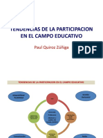 Tendencias de La Participacion en El Campo Educativo