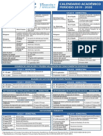 Calendario-2019-2020- UNIVERSIDAD DE GUAYAQUIL