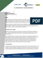 Carta encargo de auditoria