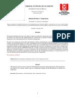 Lab No. 6 Relacion Presion vs Temperatura