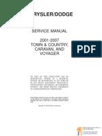 Caravan Voyager2001 2007.Service