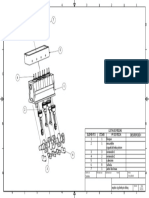 plano explosionado de un motor 4 cilindros