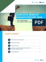 Employee Benefit Insights Report 2016 - HR Insider VietnamWorks