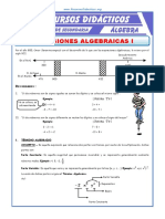 1Expresiones Algebraicas Para Segundo de Secundaria