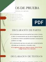 Diapositivas de Los MEDIOS de PRUEBA